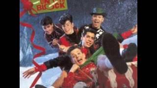 Watch New Kids On The Block Last Night I Saw Santa Claus video