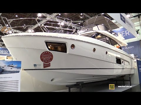 2018 Bavaria Virtess 420 Fly Motor Yacht - Walkaround - 2018 Boot Dusseldorf Boat Show