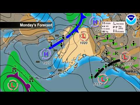 June 14, 2015 Alaska Weather Daily Briefing