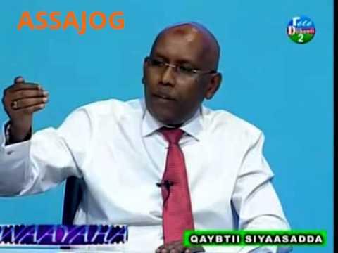 Djibouti: Barnamiijka Waayaha iyo Le ministre de finance Ilyas Moussa Dawaleh