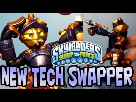 SpyRise (Skylanders SwapForce) BRAND NEW Tech SWAPPER TOY!