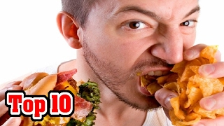 10 WORST Fast Food Items