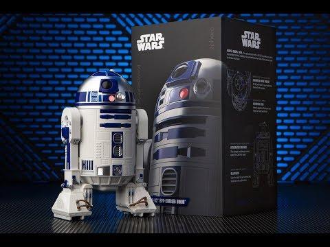 Обзор робота Sphero StarWars R2-D2 [12+]