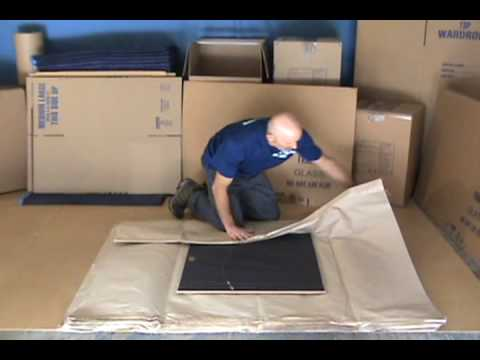 how to pack pictures and glass movers moving net youtube. Black Bedroom Furniture Sets. Home Design Ideas