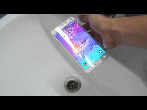 Samsung Galaxy Note 4 Water Test HD