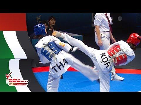 Fujairah 2018 WT GP FINAL, Final Match [Female -49Kg] Panipak WONGPATTANAKIT(THA) vs So-hui KIM(KOR) thumbnail