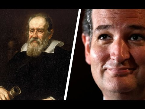 Ted Cruz: I'm Like Galileo For Denying Climate Change