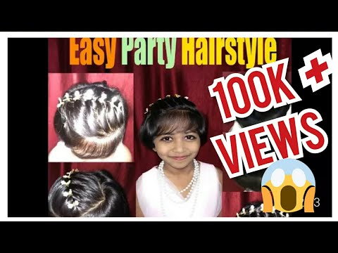 Hairstyles For Short Hair Kids | Hairstyles For Girls| Easy Little Girl Hairstyles |