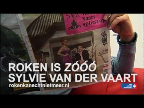 Roken is zooo Sylvie van der Vaart (KWF)