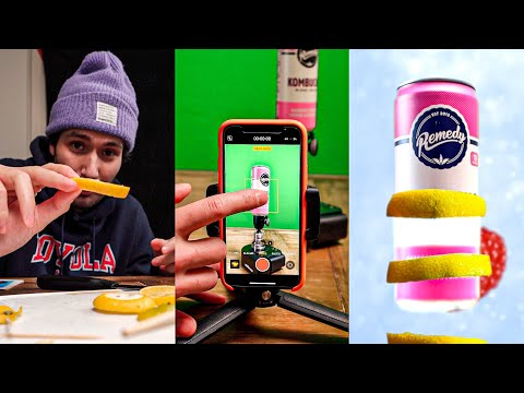 I tried filming a product commercial with my iPhone