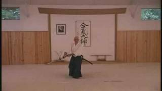 Aikido and Japanese Sword - Free Video Clip from DVD by Shobu Aikido of Boston