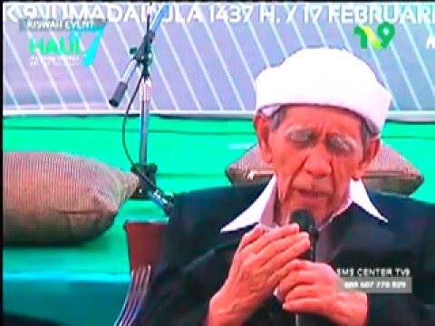 KH Maimun Zubair & KH Bukhori Masruri ; Tahlil, do'a dan mauidhoh di Haul Krapyak Jogja