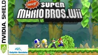 Newer Super Mario Bros (Hack) [Wii] || NVIDIA SHIELD TV || Dolphin [Vulkan API] [Android] || 1080p