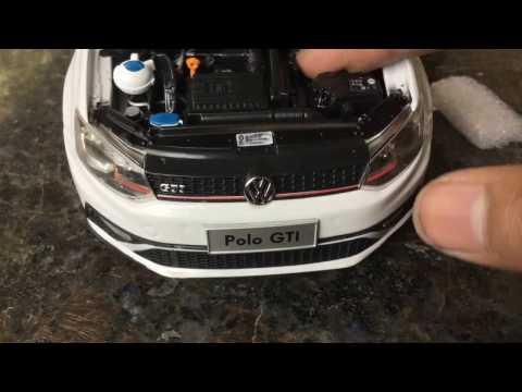 Unboxing of Mini Volkswagen POLO 1/18 Diecast