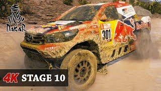Dirt Argentina - DAKAR 18 Rally Game [4K] CARS - FULL Stage 10 (Salta - Belen) Toyota