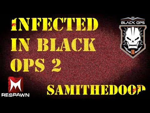 Infected / Bot zombies Black Ops 2 Custom Game