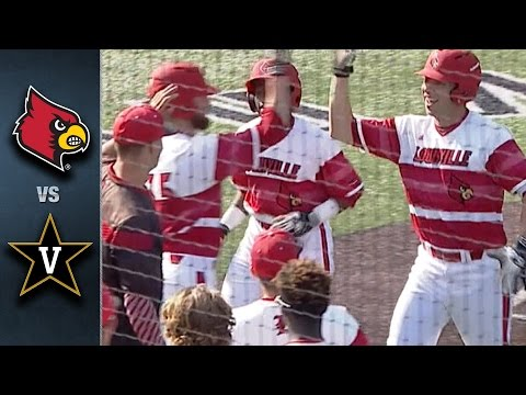 Louisville vs. Vanderbilt Baseball Highlights (May 10, 2016)