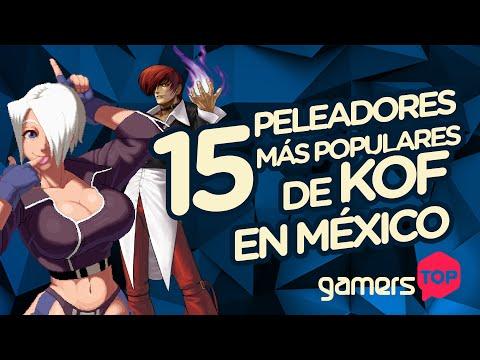 Gamers Top: 15 peleadores más populares de KoF en México