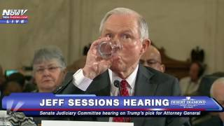 MORE PROTESTERS Interrupt Jeff Sessions Hearing, Get REMOVED From Building - FNN