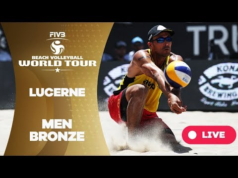 Lucerne - 2018 FIVB Beach Volleyball World Tour - Men Bronze Medal Match