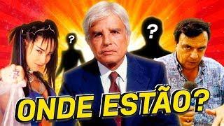 8 APRESENTADORES FAMOSOS QUE SUMIRAM DA TV E VOCÊ NÃO PERCEBEU!