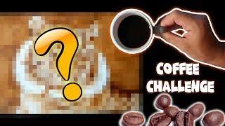 EL RETO DE DIBUJAR CON CAFÉ | COFFEE CHALLENGE | ArteMaster
