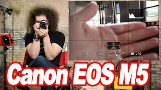 """Canon EOS M5 """"User Guide"""" How To Setup Your New Mirrorless Camera"""