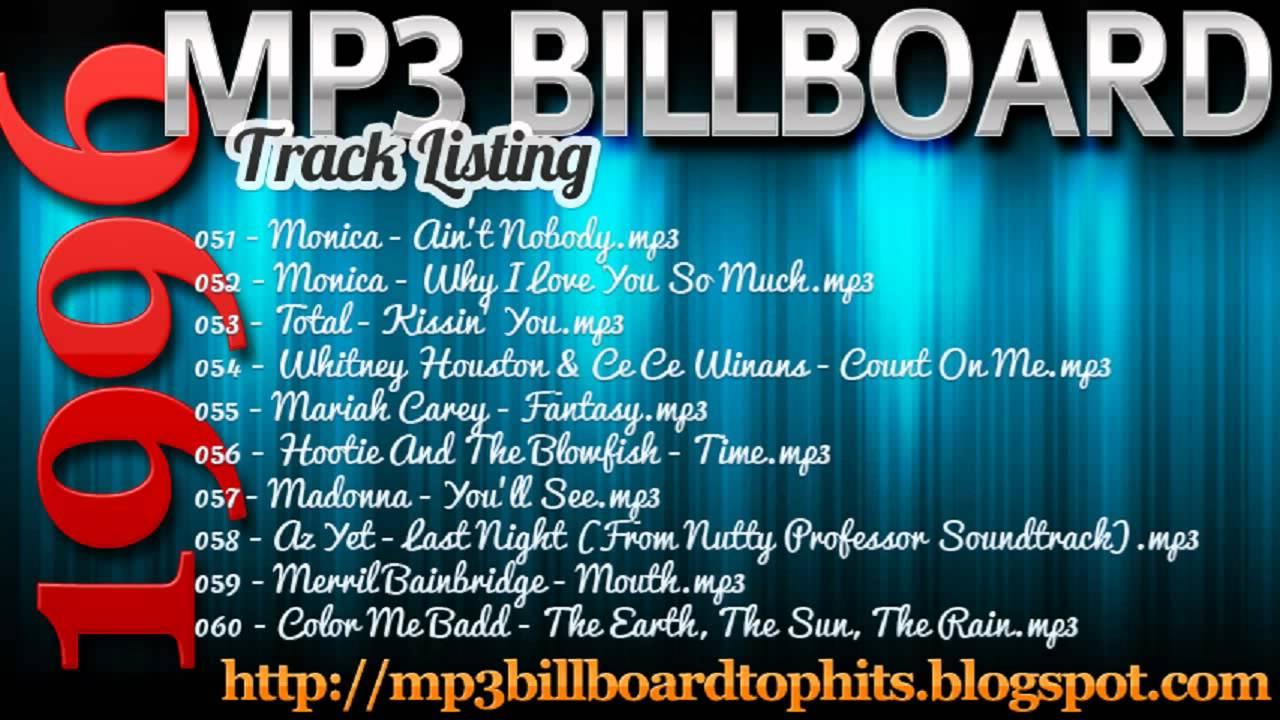 Billboard Year-End Hot 100 singles of 1996 - Wikipedia