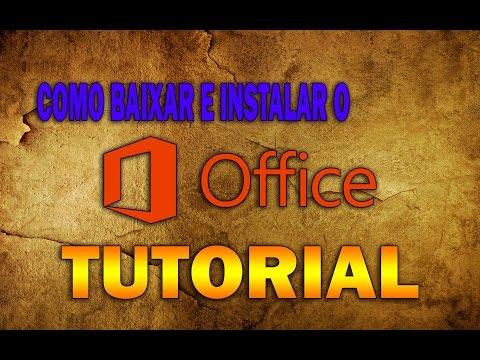 Como Baixar E Instalar O - Microsoft Office 2013 32bits e 64bits [ Vídeo Aula 2015 ]