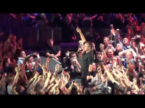 Bruce Springsteen Hungry Heart live 2013 Denmark