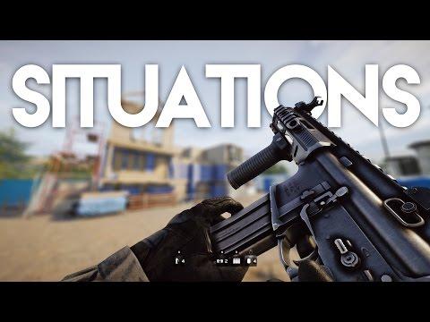 All Rainbow Six Siege Situations (Realistic & 3 Stars)