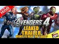 AVENGERS 4 Leak Trailer News Is Real Or Fake? [Explained In Hindi]