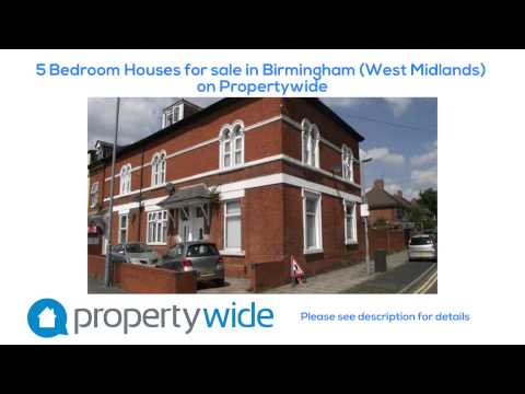 5 Bedroom Houses for sale in Birmingham (West Midlands) on Propertywide