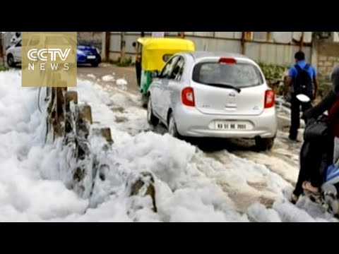 Water pollution haunts India