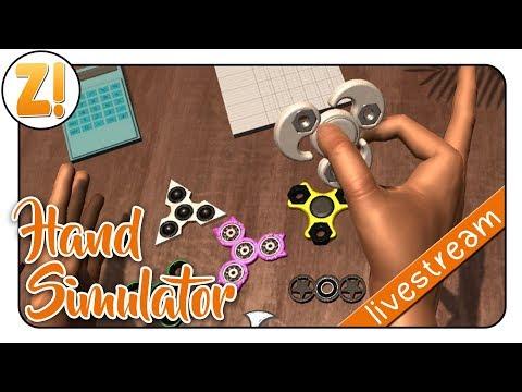 Hand Simulator: Eine Hand klatscht die Andere! #angezockt | Let's Play [DEUTSCH]
