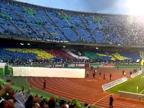 mca vs crb tifo ultras virage sud 2012-2013