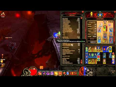 Diablo 3 - Magic Find - Inferno Act 3 - Insane Gold making and Gear upgrading!
