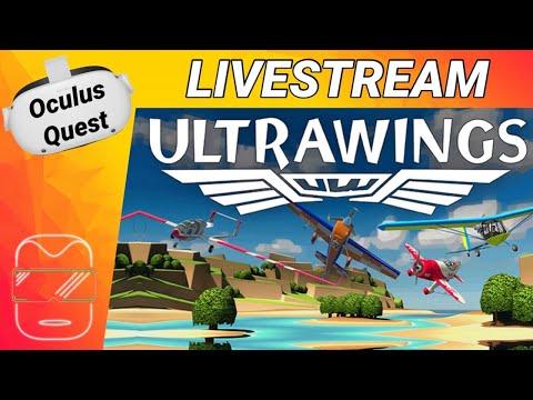 ULTRAWINGS VR auf der Oculus Quest 2 [deutsch] Oculus Quest 2 Games deutsch   Flugsimulator VR