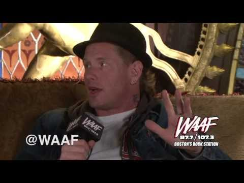 Mistress Carrie Interviews Corey Taylor Pt. 1