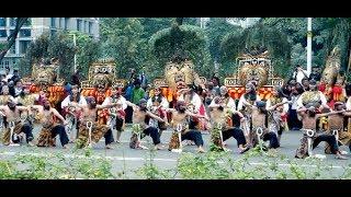 Atraksi Reog Ponorogo di Pawai Budaya ~ Kongres Kebudayaan Indonesia (KKI) 2018