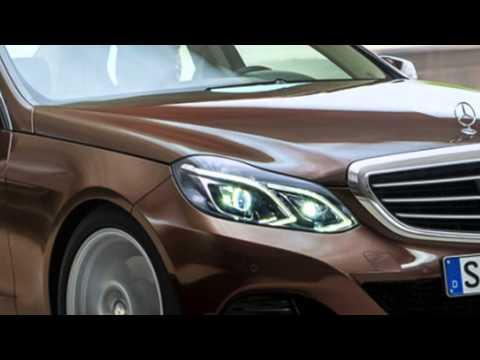 Mercedes E-класс - рестайлинг 2013