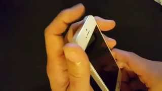 Iphone 5: How to Fix Display that Wont Turn On / Black Screen / Nothing on Display