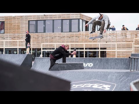 Pro Freestyle 2018 Course Preview (Matias Dell Olio, Richard Tury, Douwe Macare)