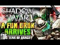 A GENUINELY FUN URUK FINALLY APPEARS | Middle Earth: Shadow Of War   SHADOW WARS