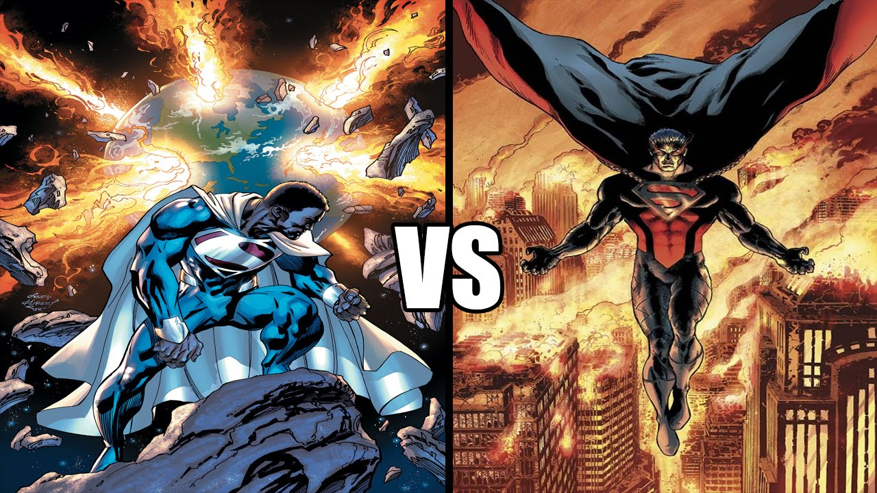 Superman Earth 2 New 52 vs Evil Superman | Earth 2