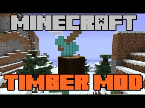★ How To Install Timber Mod 1.5.2 Minecraft Mod Download & Tutorial (TGN)