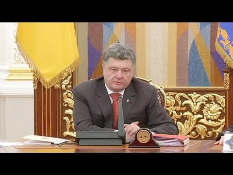Ukrainian president vows to send more troops to eastern region