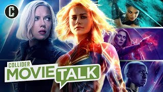 Marvel's Leading Ladies Want an All-Female Movie - Collider Movie Talk