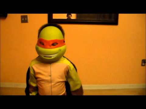 TMNT Michelangelo Ninja Turtle Costume kid Review