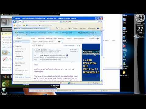 Hacker hotmail original